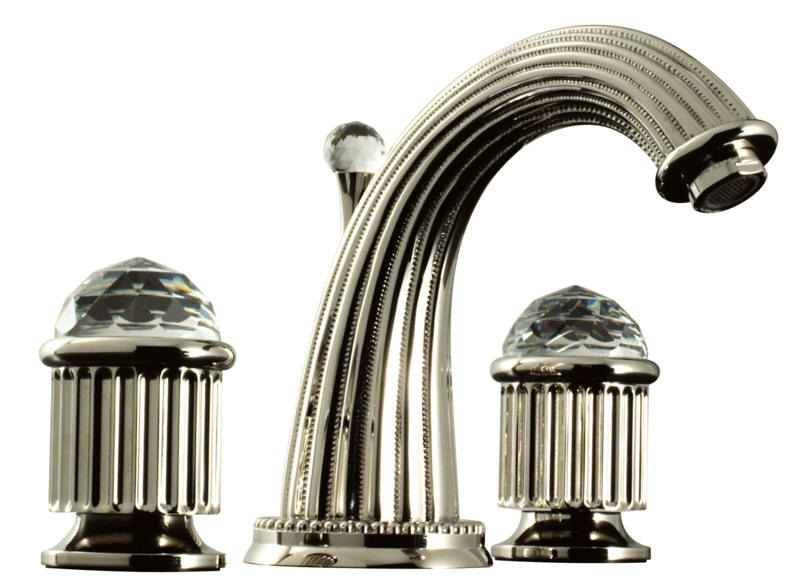 Santec Monarch Crystal Faucets and Accessories. Santec Monarch Crystal faucets